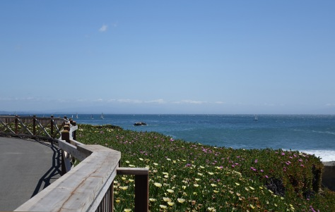 The walk to Walton's Lighthouse