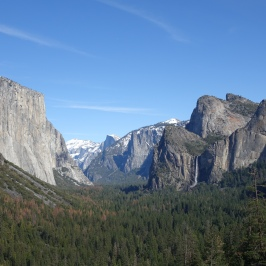Yosemite's iconic scene