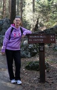 Krista trail sign