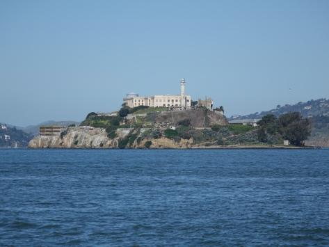 alcatraz from the pier