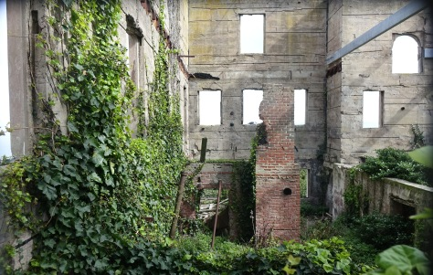warden residence in decay